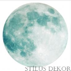 3D Világító Égitest Hold 30x30